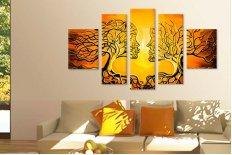 Tablouri canvas copac indragostiti