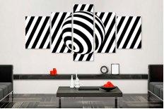 Tablouri moderne alb-negru 65815
